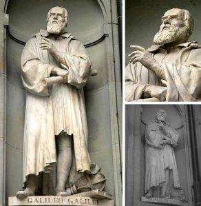 Galileo Galilei'nin Floransa'daki heykeli