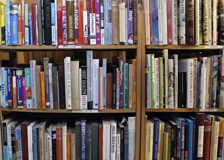 Kitaplar ve dergiler, kısaca kütüphane