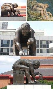 Isaac Newton anıtı