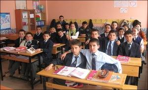 Türkiye'mizden bir sınıf görüntüsü