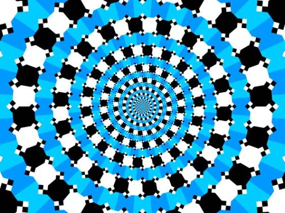 Mavi halkalar spiral mi degil mi?