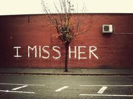 Onu çok özlüyormuş :(((