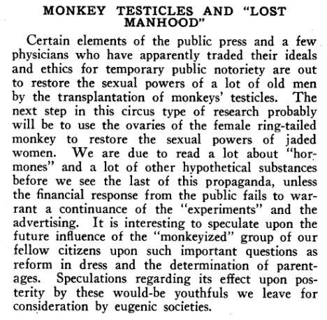 maymun testislerinin insanlara nakli