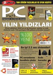Pcnet Dergisi Aralık 2010 sayısı kapağı